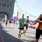 London marathon 2014 — Stock Photo #44772659