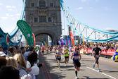 London marathon 2014 — Stock Photo