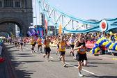 London marathon 2014 — Zdjęcie stockowe