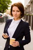 Business woman — Photo
