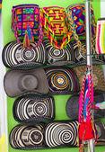 Colombian sombrero's — Stock Photo