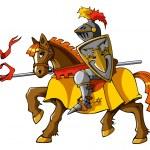 Постер, плакат: Rider knight