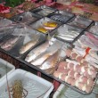 Fish and seafood market — Stock Photo #2477786
