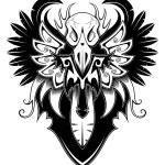 ������, ������: Heraldic bird