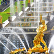 Samson Fountain in Peterhof Palace, Russia — Stock Photo #26629159