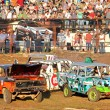 Stock Photo: Demolition Derby
