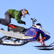 Stock Photo: Freestyle Snowcross 2013, Novyy Urengoy