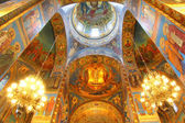 Church of the Savior on Blood in St. Petersburg, Russia — Stock Photo