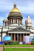 Saint Isaac's Cathedral in Saint Petersburg — Stock Photo