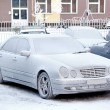 Frozen car — Stock Photo #39496843