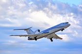 Gazprom Avia Tupolev Tu-154M — Stock Photo