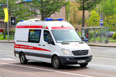 Sprinter mercedes-benz — Fotografia Stock