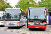 Setra interurban coaches — Stock Photo