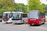 ônibus turísticos — Foto Stock