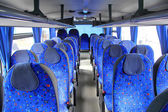 Interior of a coach — Stock Photo