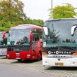 Touristic coaches — Stock Photo