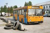 Abandoned bus — Stock Photo