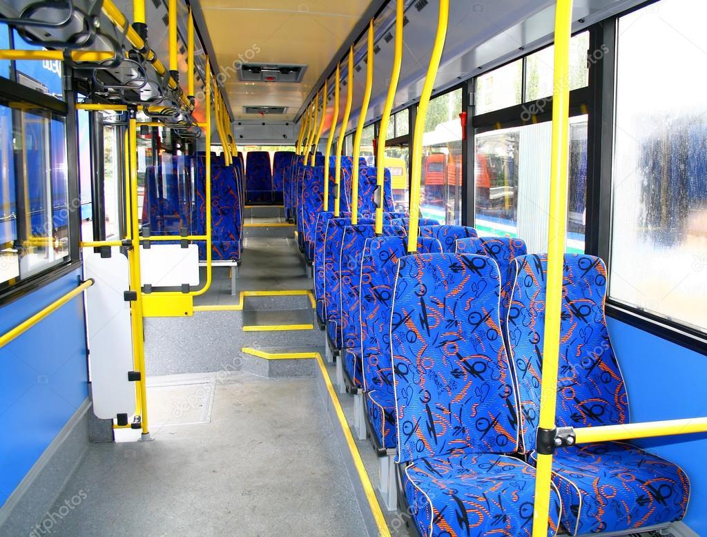 Interno Di Un Autobus Urbano Foto Stock Artzzz 44039763