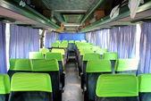 Interior of a coach — Stock Photo