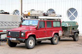 Land Rover Defender — Stock Photo