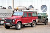 Land rover defender — Stok fotoğraf