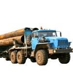 Blue truck — Stock Photo #5230615