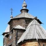 Wood orthodox architecture — Stock Photo #6778542