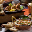 Indian food - Stockfoto