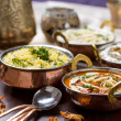 Indian food — Stockfoto