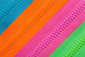 Zippers background — Stock Photo