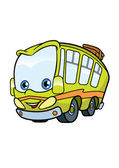 Funny travel bus — Stock Vector