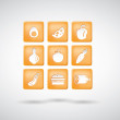 Food icons. set 1 — Stock Vector #32319129