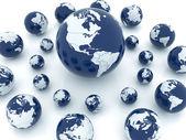 地球地球儀 — ストック写真
