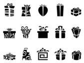 Gift box icons — Stock Vector