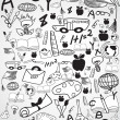 Doodle education background — Stock Vector #40654505