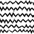 Hand drawn zig zag patterns — Stock Vector