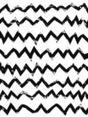Hand drawn zig zag patterns — Stock Vector