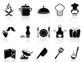 Chef icons — Stock Vector