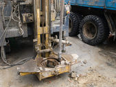石油钻机的详细信息 — 图库照片