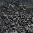 Stock Photo: Open pit coal mine