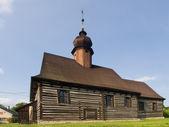 Historischen holzkirche — Stockfoto