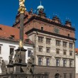 Stock Photo: Townhall of Plzen city