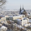 Wintry historic center of Brno — Stock Photo #40106747