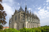 St. Barbora cathedral in Kutna Hora, Czech republic — Stock Photo