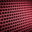 Stock Photo: Abstract metallic grid