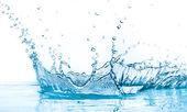 Respingos de água — Foto Stock