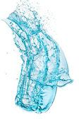 Plusk wody turkus — Zdjęcie stockowe