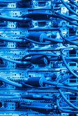 Data center closeup — Stock Photo