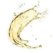Splash of white wine — Stock Photo