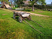 Old Antique Wagon — Stock Photo